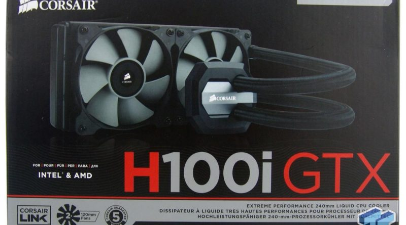 Award-Winning Cooler Series – The New H100i CPU Cooler